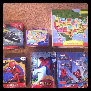 Other - 6 Kids puzzles new never opened